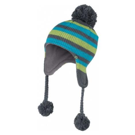 Lewro AZIZ zelená - Dětská pletená čepice