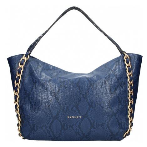 Dámská kabelka Sisley Evin - modrá