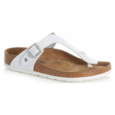 Rieker dámské pantofle V9460-8 Bílá