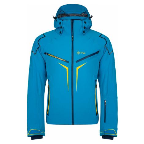 KILPI Pánská lyžařská bunda - větší velikosti TURNAU-M LMX021KIBLU Modrá