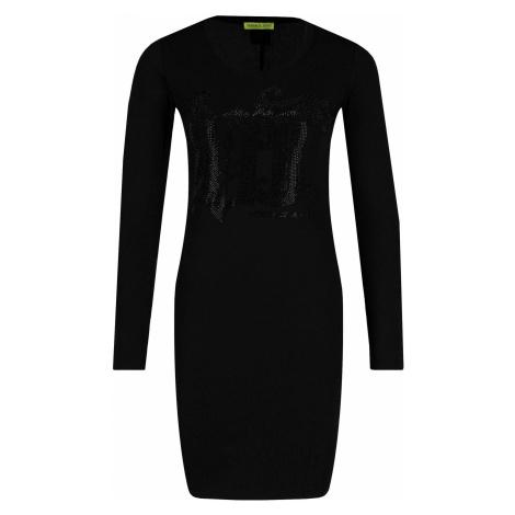 Černé elastické šaty - VERSACE JEANS