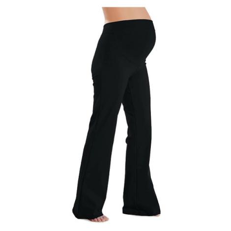 Dámské těhotenské leggings do zvonu Litex 99413 | šedá
