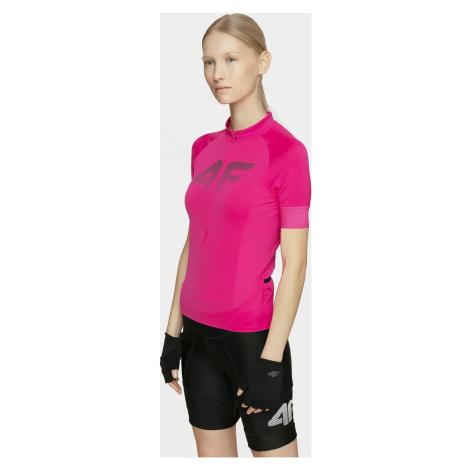 Dámské cyklistické tričko 4F RKD450 Růžové