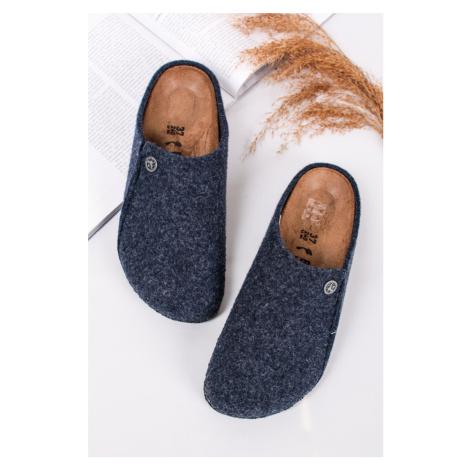 Tmavě modré pantofle Zermatt Standard WZ Birkenstock
