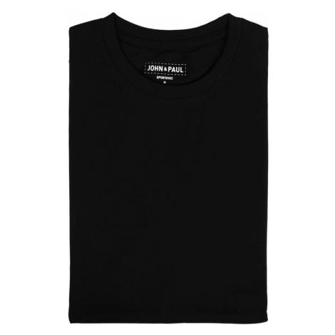Pořádné tričko John & Paul - černé