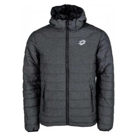 Lotto GEORG tmavě šedá - Pánská prošívaná bunda