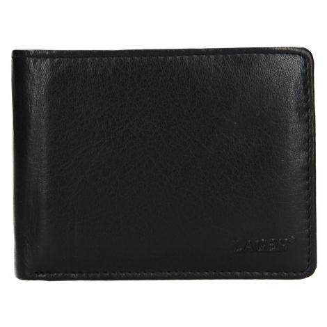 Pánská kožená peněženka Lagen Alexo - černá