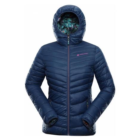 Dámská zimní hi-therm bunda Alpine Pro IDIKA - tmavě modrá