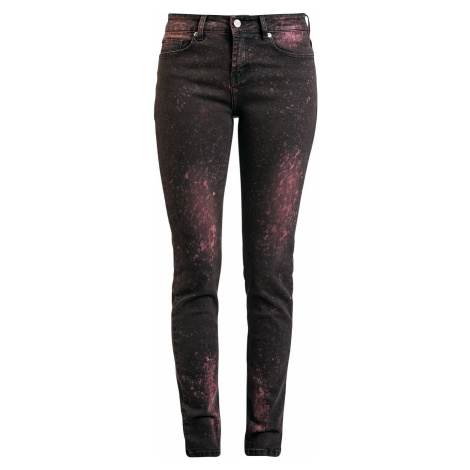 Black Premium by EMP Skarlett Dámské džíny červená
