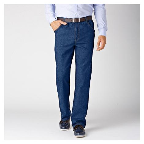 Blancheporte Pohodlné džíny, menší postava tmavě modrá