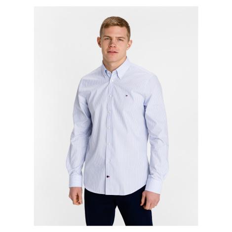 Poplin Wide Stripe Košile Tommy Hilfiger Modrá