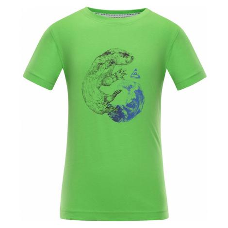 ALPINE PRO NEJO Dětské triko KTSN164508PA jasmín