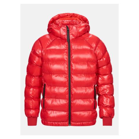 Bunda Peak Performance Jr Tomic Jacket - Červená