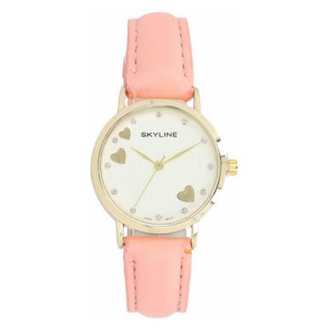 Skyline Náramkové dámské hodinky s kamínky Quartz 9300-8 ruznobarevne