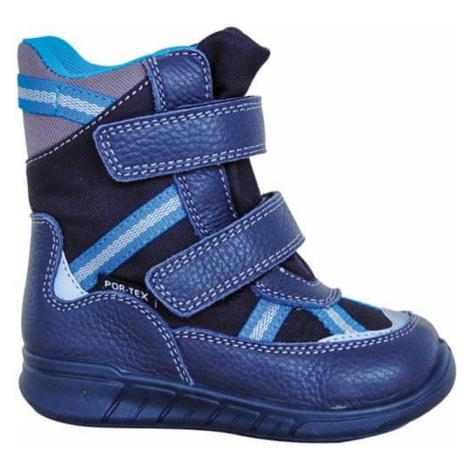 Protetika obuv chlapecká zimní LARAN, Protetika, modrá