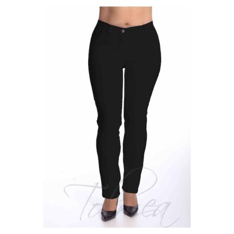 Kalhoty elastické riflové dlouhé 45T Tolmea