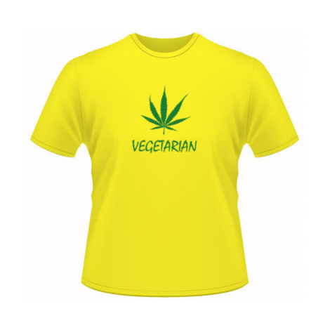 Pánské tričko na tělo Vegetarián