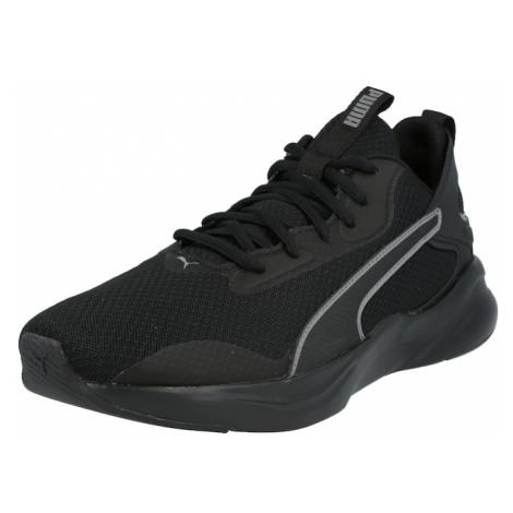 PUMA Sportovní boty 'Softride Rift' černá / bílá