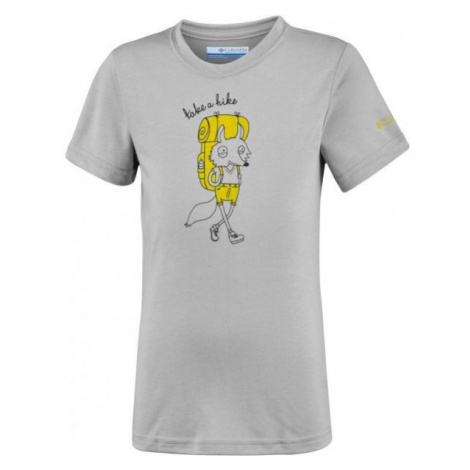 Columbia MINI RIDGE TEE šedá - Dětské triko