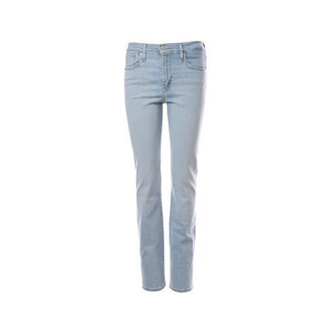 Levi´s® jeans 724 High Rise Straight dámské světle modré
