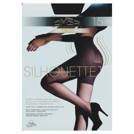 Dámské punčochové kalhoty Omsa Silhouette 15 den odstín béžové