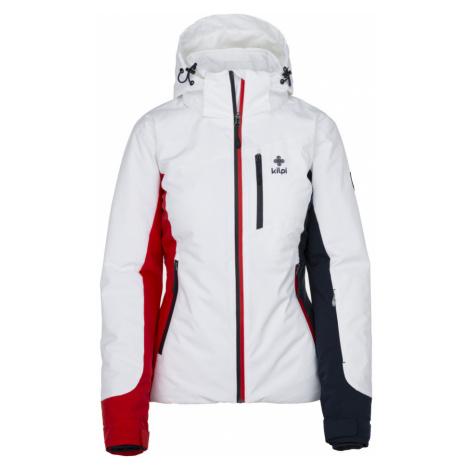 KILPI Dámská lyžařská bunda SYLVA-W JL0113KIWHT Bílá