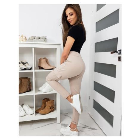 IVET women's beige pants UY0274 DStreet