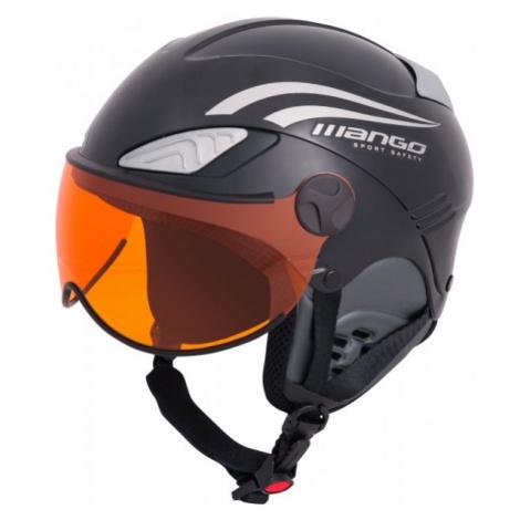 Mango ROCKY PRO černá - Dětská sjezdová helma