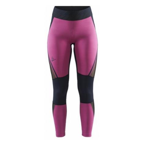 Dámské kalhoty CRAFT Charge Mesh černá/fialová