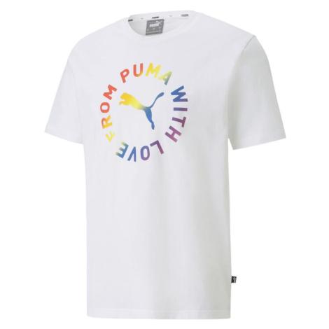 Tričko Puma PRIDE GRAPHIC TEE Bílá / Více barev