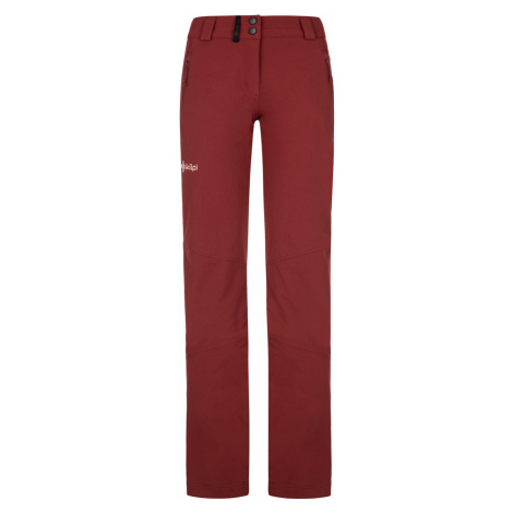 KILPI Dámské outdoorové kalhoty LAGO-W NL0012KIDRD Červená