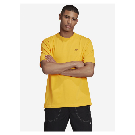 Trefoil Boxy Triko adidas Originals Žlutá