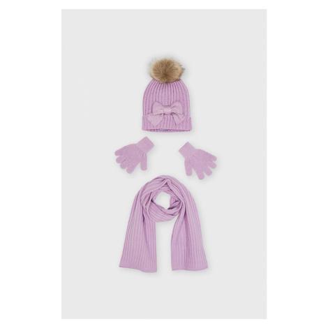 Mayoral - Dětská čepice, šála a rukavice