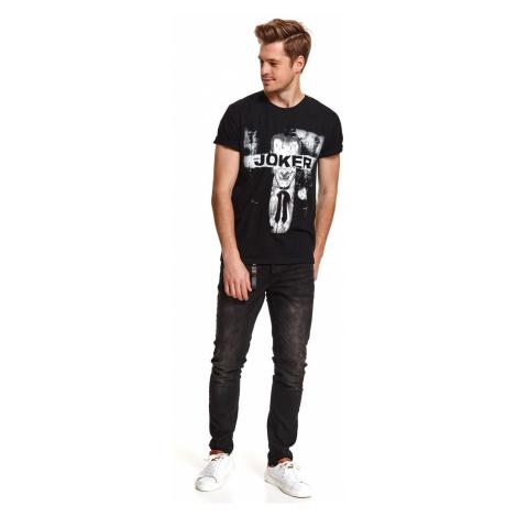 Men's T-shirt Top Secret Printed