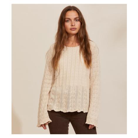 Svetr Odd Molly Maureen Sweater - Bílá