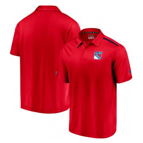Pánské tričko Fanatics Rinkside Synthetic Polo NHL New York Rangers,