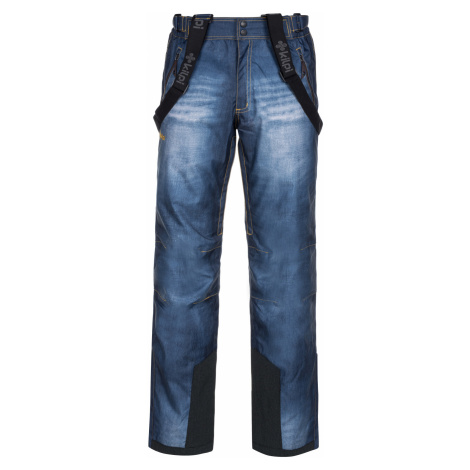 KILPI Pánské lyžařské kalhoty DENIMO-M LM0040KIBLU Modrá