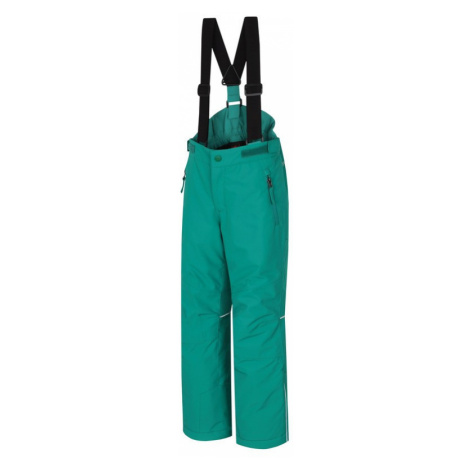 Dětské kalhoty Hannah Akita JR II golf green