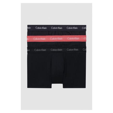 3PACK pánské boxerky Calvin Klein černé (U2664G-6ZK)