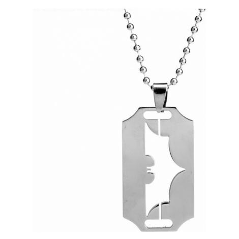 Batman náhrdelník - Vzor žiletka
