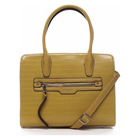 David Jones Dámská kabelka žlutá - Camille Žlutá