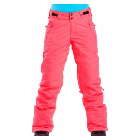 Kalhoty Meatfly Pixie neon pink