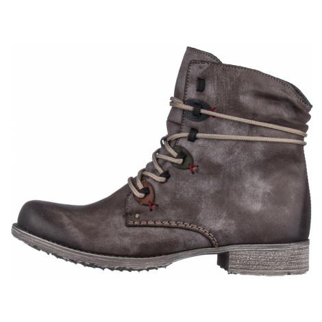 RIEKER, Kotníčková obuv  70827-26 hnědá EU 37