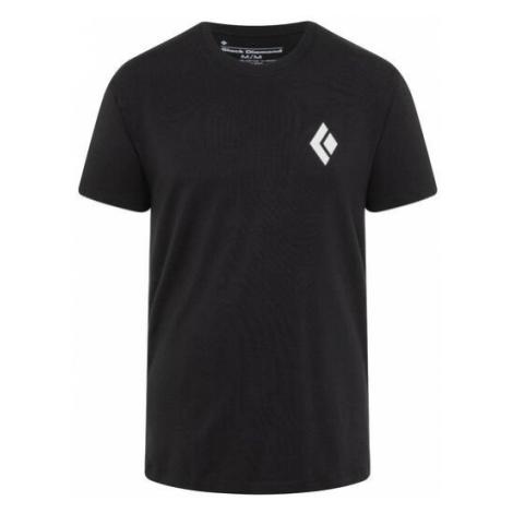 Black Diamond triko KR pánské Double Diamond, černá