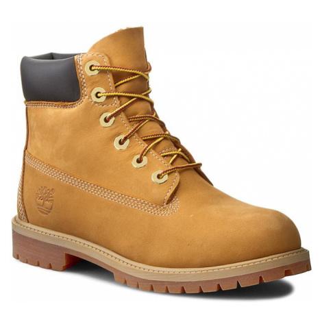 Turistická obuv TIMBERLAND - 6in Prem Wheat 12909/TB0129097131 Wheat Nubuc Yellow