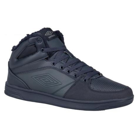 Umbro KINGSTON MID tmavě modrá - Pánská zimní obuv