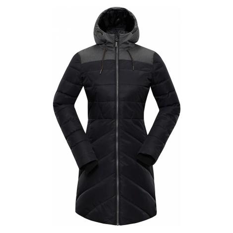 Dámský zimní kabát Alpine Pro TESSA 3 - černá
