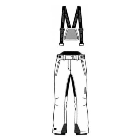 Dámské lyžařské kalhoty Alpine Pro FERRARA - bílá