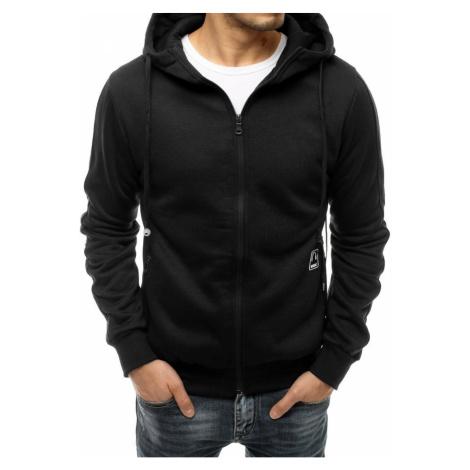 Black men's sweatshirt with headphones BX4879 DStreet
