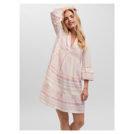 Dicthe Šaty Vero Moda Bílá